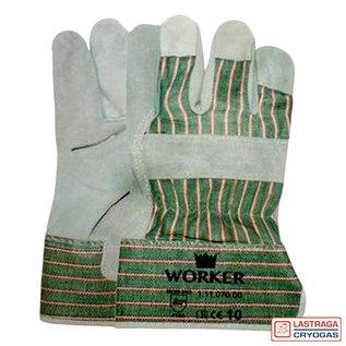Majestic Werkhandschoenen - Splitleer - A-kwaliteit