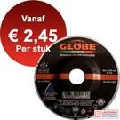 Globe Non ferro afbraamschijf - Aluminium - 125 x 6,5 mm