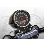 Free Spirits Aluminum Instrument Panel for Triumph Twins