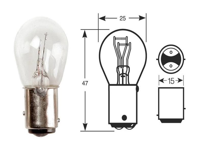 Osram Stop & Taillight Bulb 21/5W