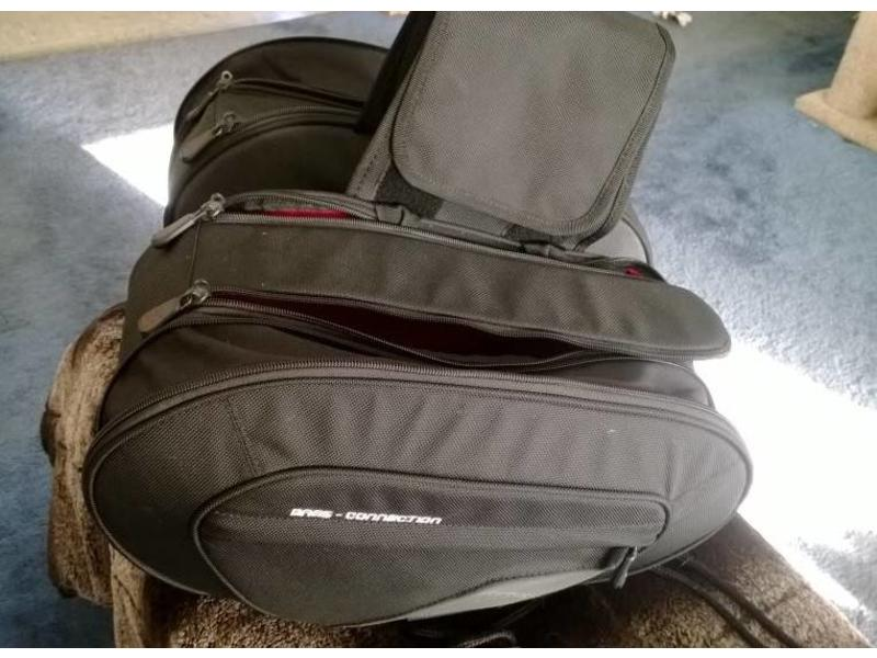 "Pair of ""Blaze"" Sport Panniers (rails included)"