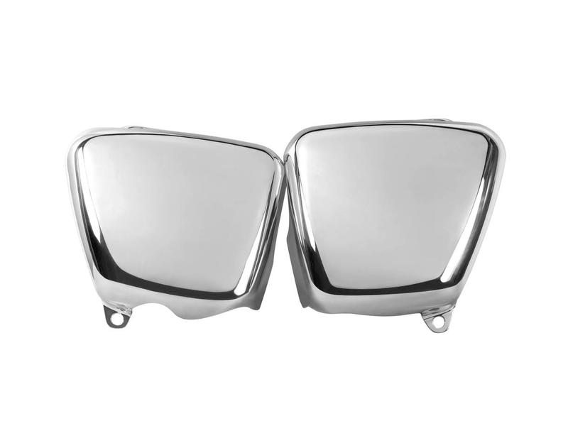 Motone Side Covers in Aluminium (Polished or Brushed)