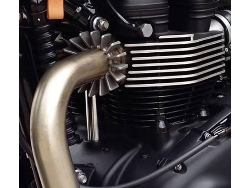 Motone Retro-Style Exhaust Flanges (pair)