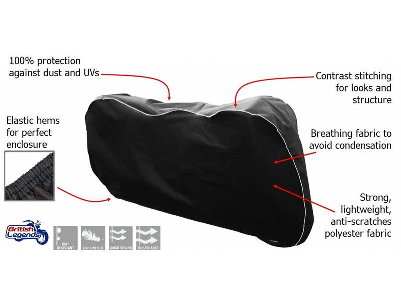 Protective Indoor Cover for Triumph Motorcycles