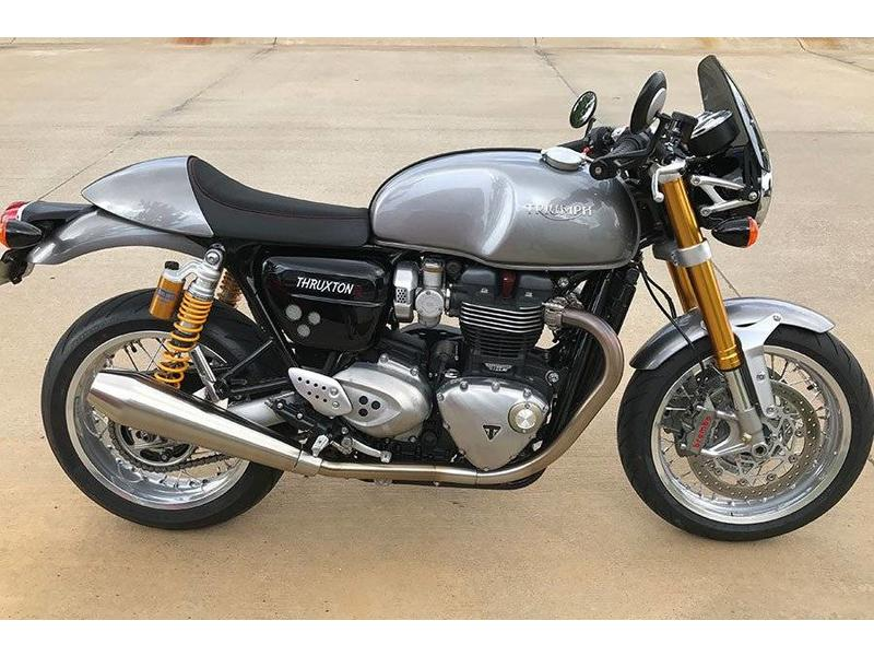 dart flyscreen for triumph thruxton 1200r british legends. Black Bedroom Furniture Sets. Home Design Ideas