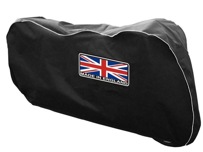 Housse de protection moto made in england british legends for Housse pour moto