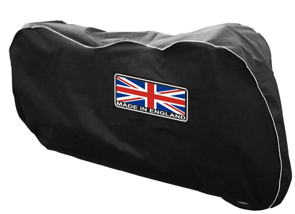Housse de protection moto made in england british legends for Housse protection