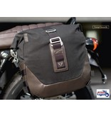 Canvas Saddle Bag with Complete Fitting Kit (L or R side)