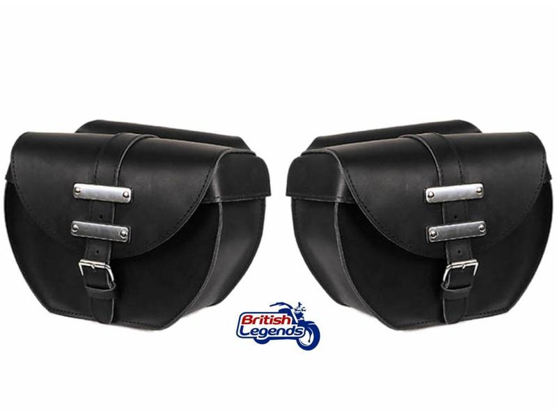 """Big Apple"" Saddlebags Full-Skin Leather"