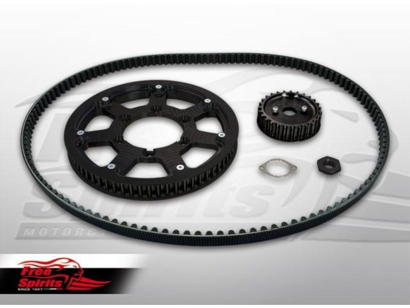 Free Spirits Drive-Belt Kit for Triumph Twins 900/1200cc