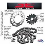 JT Sprockets Kit chaîne pour Triumph Thunderbird 900/Sport