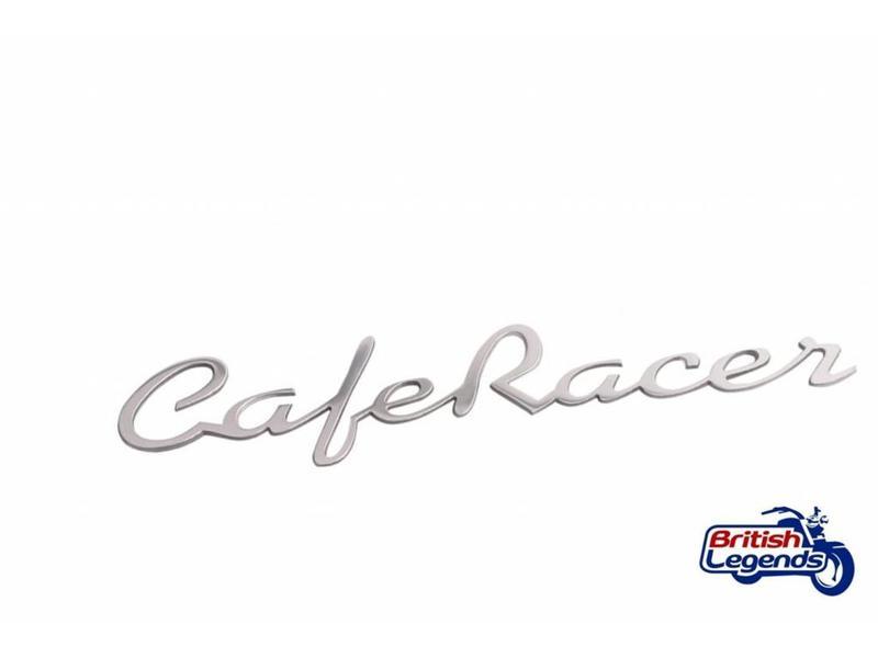 """Ecussons/badges """"Cafe-Racer"""" en alu massif"""
