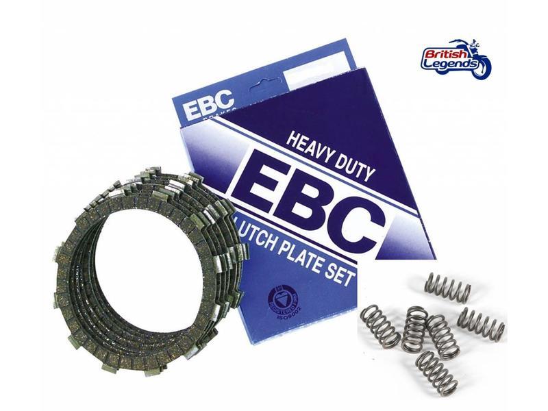 EBC Clutch Kit (discs + springs) for Kawasaki W650/W800
