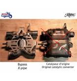 Motone Élimination du Catalyseur sur Triumph Twins 900/1200cc