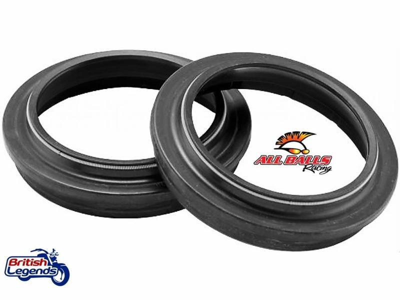 All Balls Fork Dust Seals for Triumph motorbikes