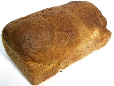 Zwart groot brood