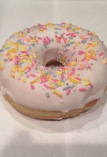 Donut witte chocolade