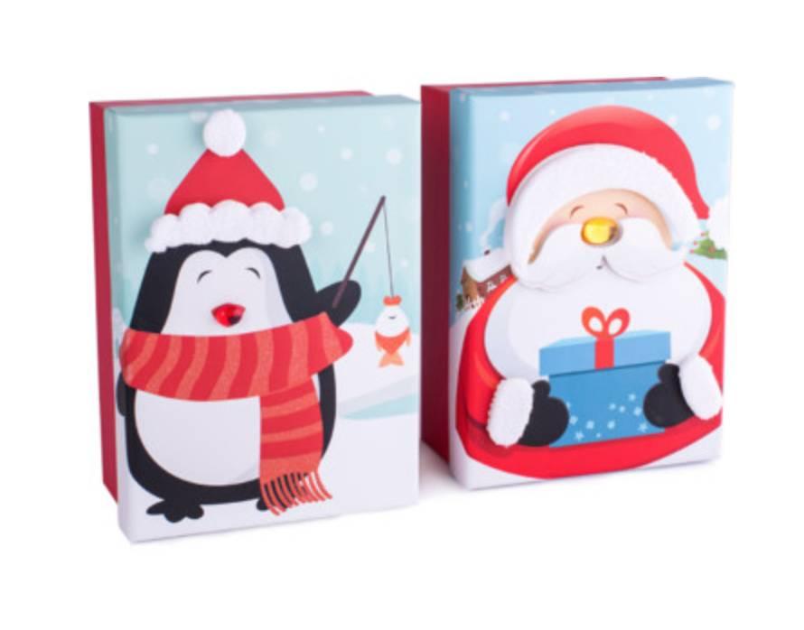 Kerstdoosje in een originele verpakking