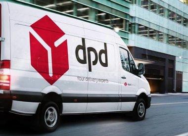 Pakketje aan huis geleverd met DPD.