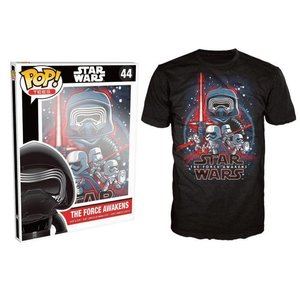Pop! Star Wars Pop! Tees: The Force Awakens