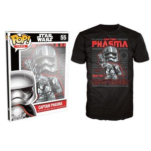 Pop! Star Wars Pop! Tees: Captain Phasma
