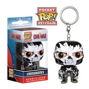 Pop! Marvel Marvel: Captain America: Civil War: Pocket Pop! Keychain: Crossbones