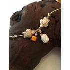 Saint Tropez Orange - armband