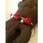 Kat's Coral - armband