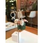 Cypress Jade - oorbellen zilver