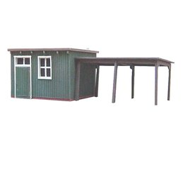 "Wooden garden shed ""C"""