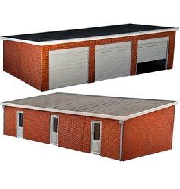 Garage met lessenaarsdak