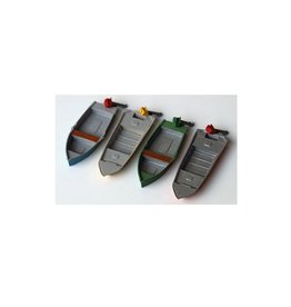 4 pcs Sport fishing boats