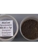 Pigment Powder Brouwngreen