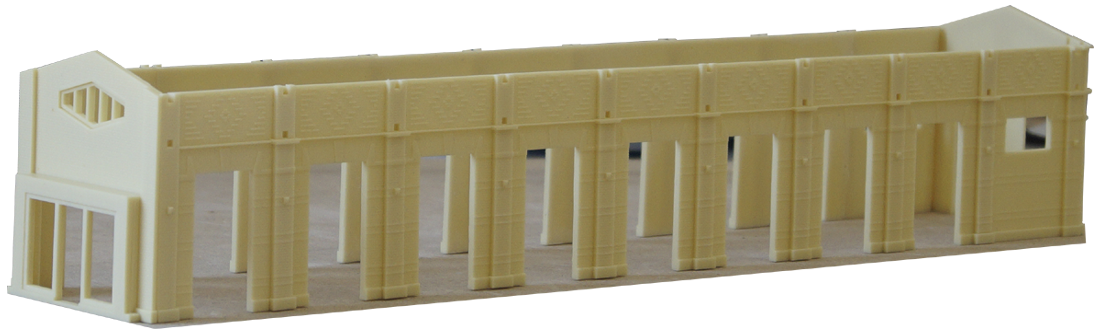 Station Ermelo Resin model