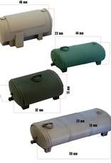 4 stuks Opslagtanks