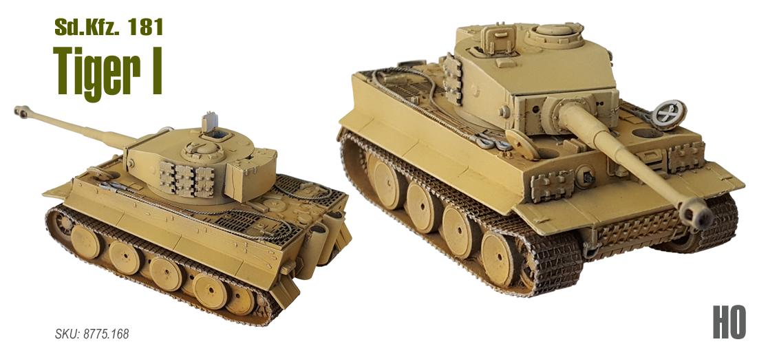 Sd Kfz 181 Panzerkampfwagen Tiger 1
