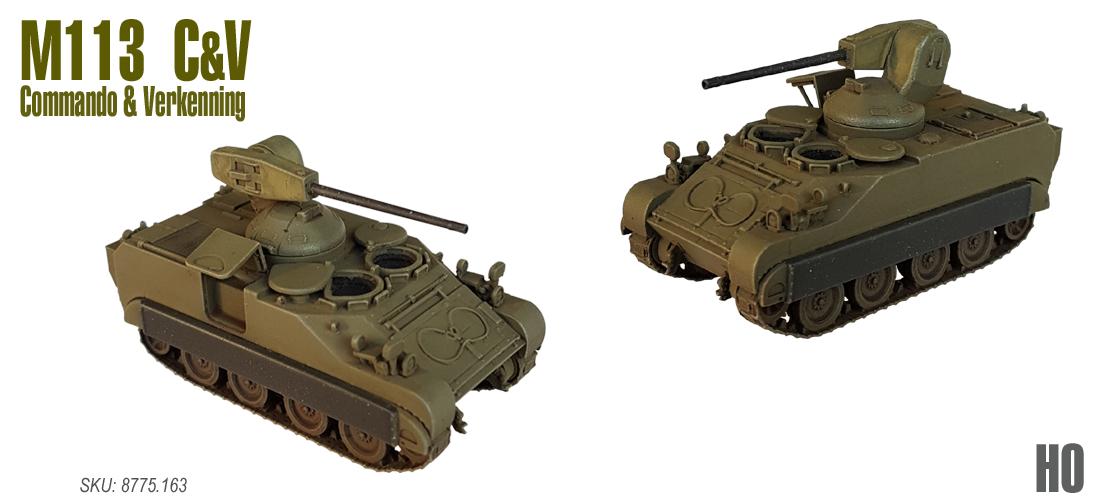 M113 C&V Commando & Verkenning