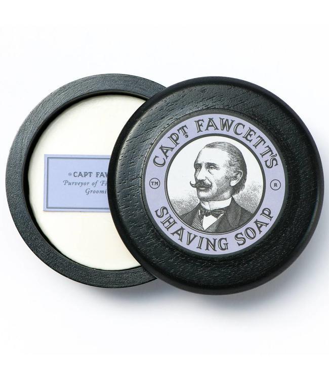Captain Fawcett Shaving Soap Wooden Bowl