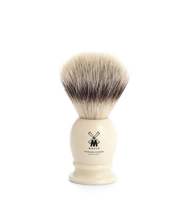 Muhle Silvertip Fibre - S/M/L/XL - Classic - Ivoor