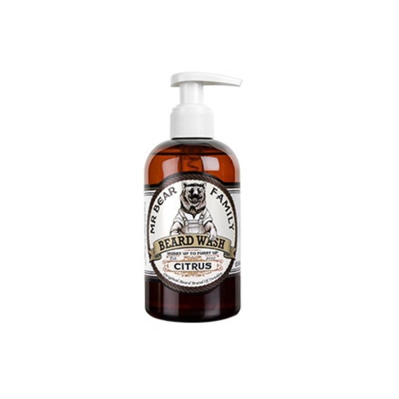 Mr. Bear Family Beard Wash Citrus