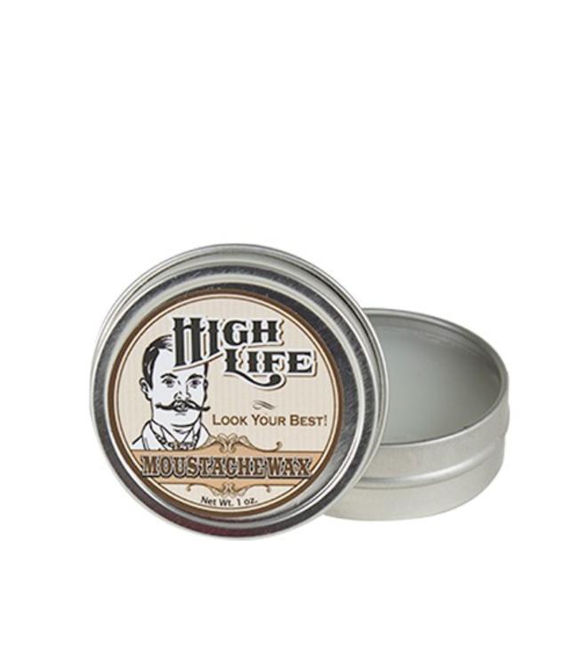 High Life Moustache Wax