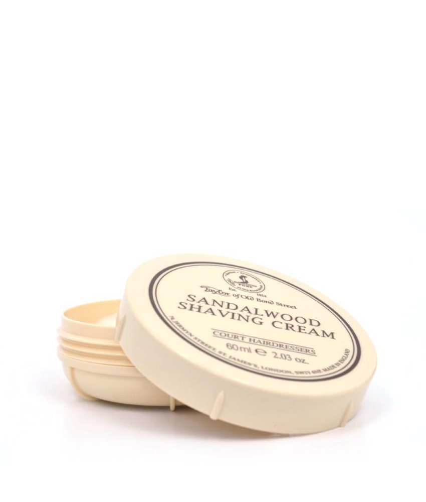 Taylor of Old Bond Street Scheercreme Sandalwood (Travelsize)