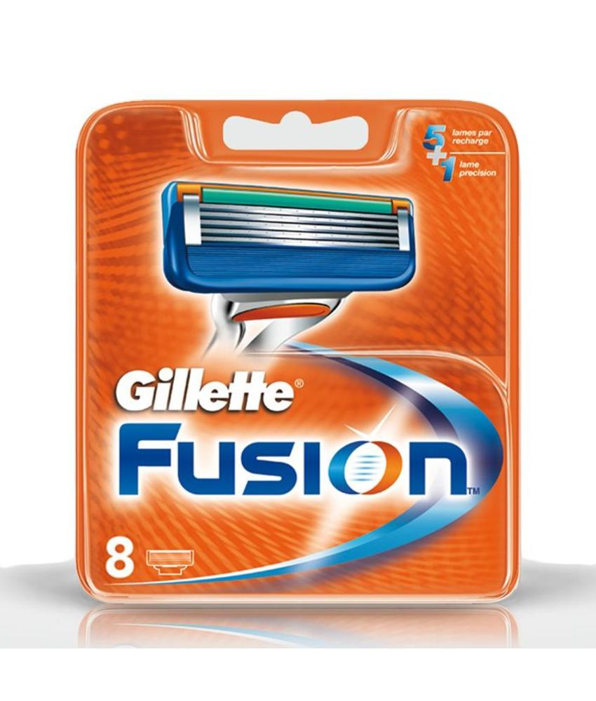 Gillette Fusion mesjes 8 stuks