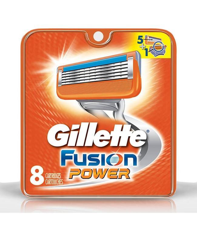 Gillette Fusion Power mesjes 8 stuks