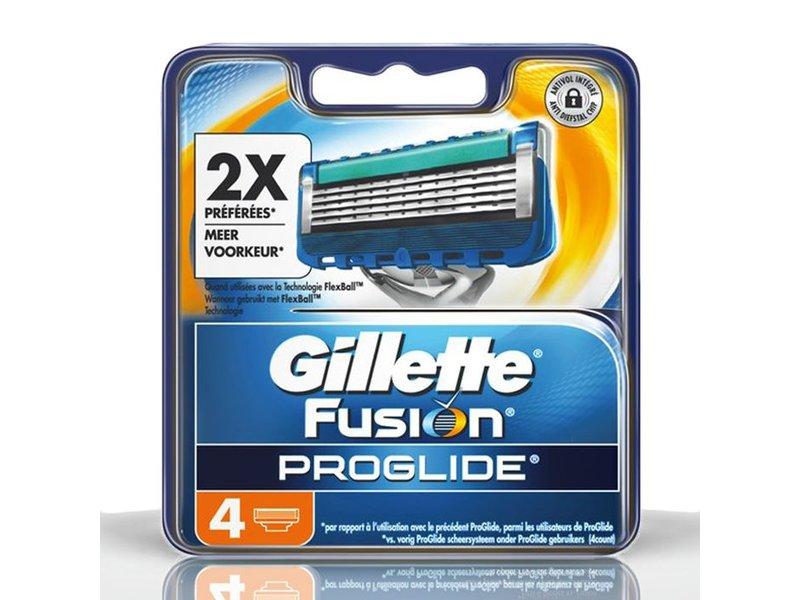 Gillette Fusion ProGlide mesjes 4 stuks