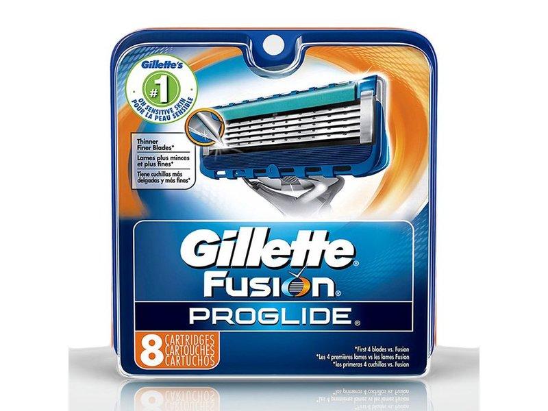 Gillette Fusion ProGlide mesjes 8 stuks