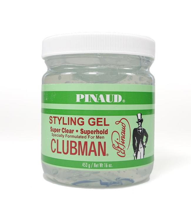 Clubman Pinaud Super Hold Styling Gel - 453 gram