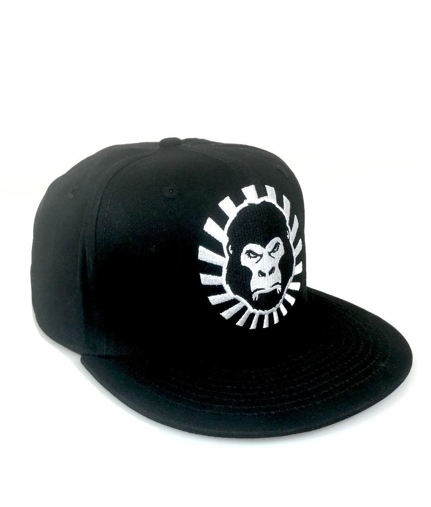The Alpha Men Snapback Cap Black