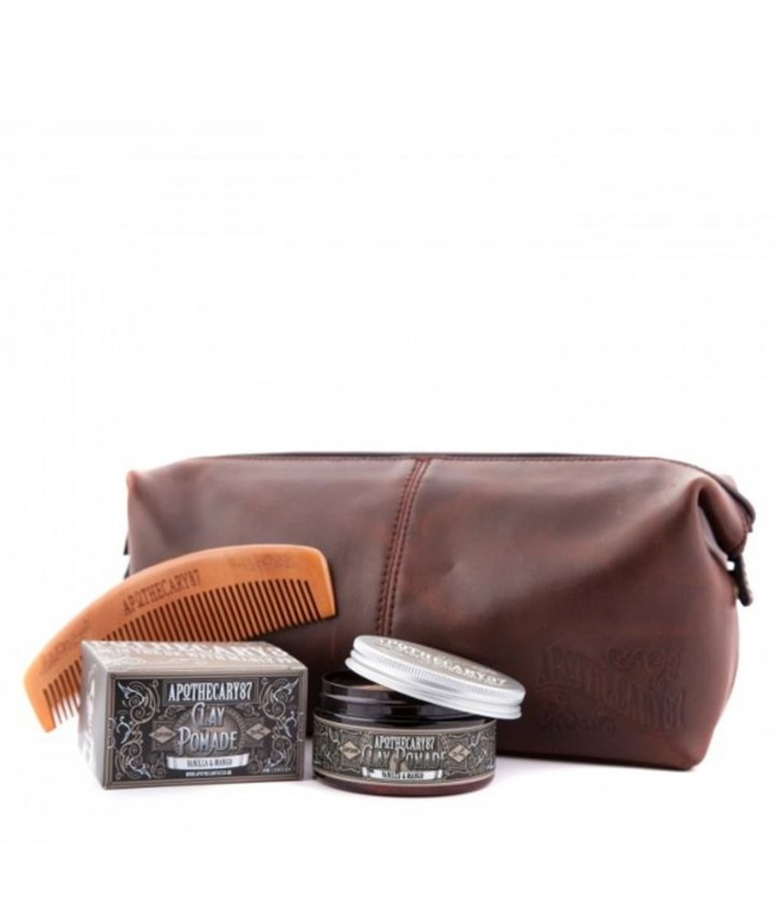 Apothecary87 Wash Bag Hair Kit