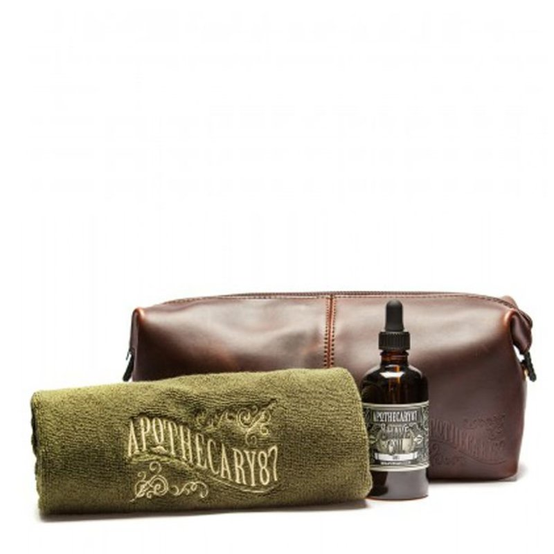 Apothecary87 Wash Bag Shave Kit